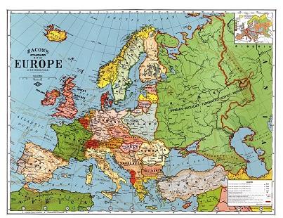 Glocal cartina Europa