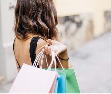 Immagine Shopping crisi commercio