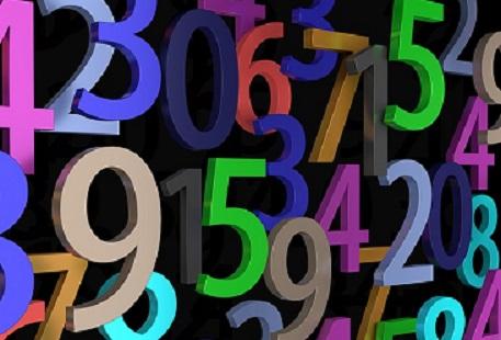 Immagine numeri-Numeri Economia