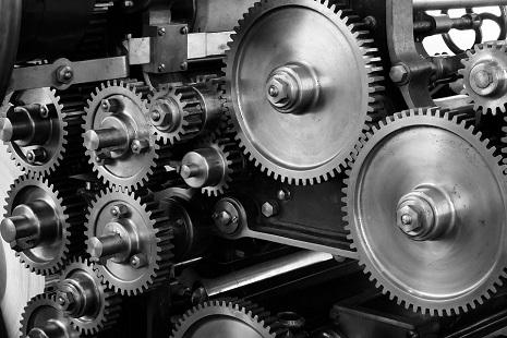 Immagine manifatturiero ingranaggi