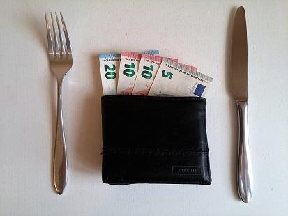 Foto soldi Confesercenti